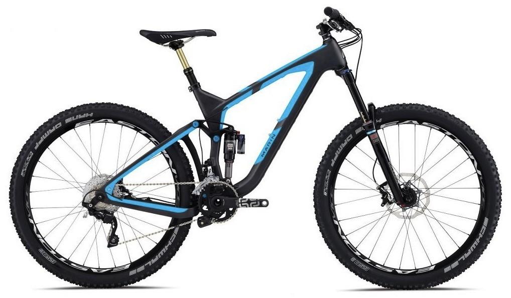 bike - 2014 Marin Attack Trail Quad Carbon XT9