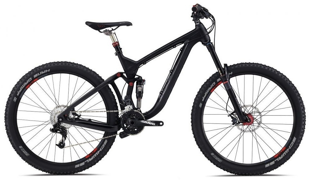 bike - 2014 Marin Attack Trail Quad Carbon XT8