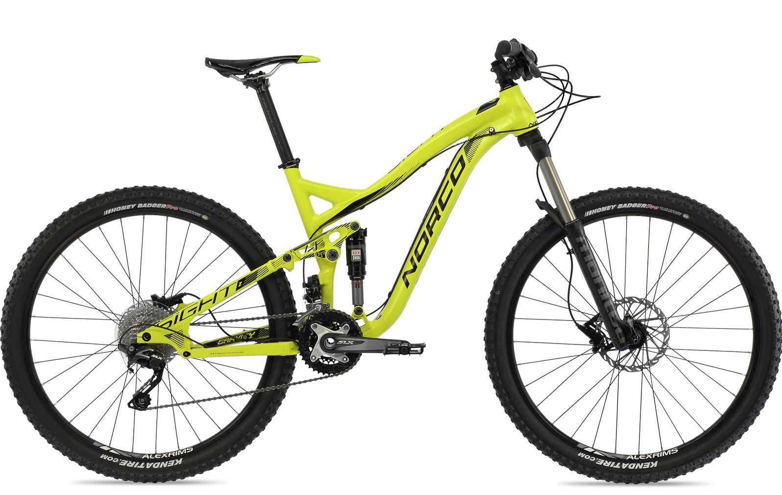 bike - 2014 Norco Sight Alloy 7.2 - green:black