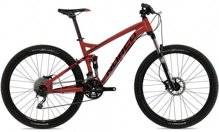 bike - 2014 Norco Fluid 7.2 - black/red