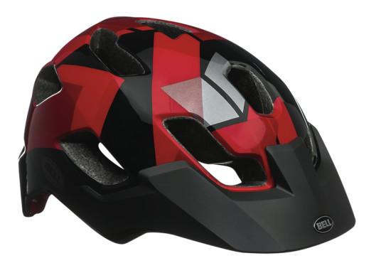 Bell Stoker Helmet - BLACK:RED HAZE