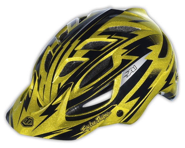 A1 Helmet Cyclops Gold Metal Flake