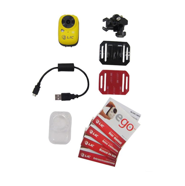 Liquid Image EGO Camera - box contents