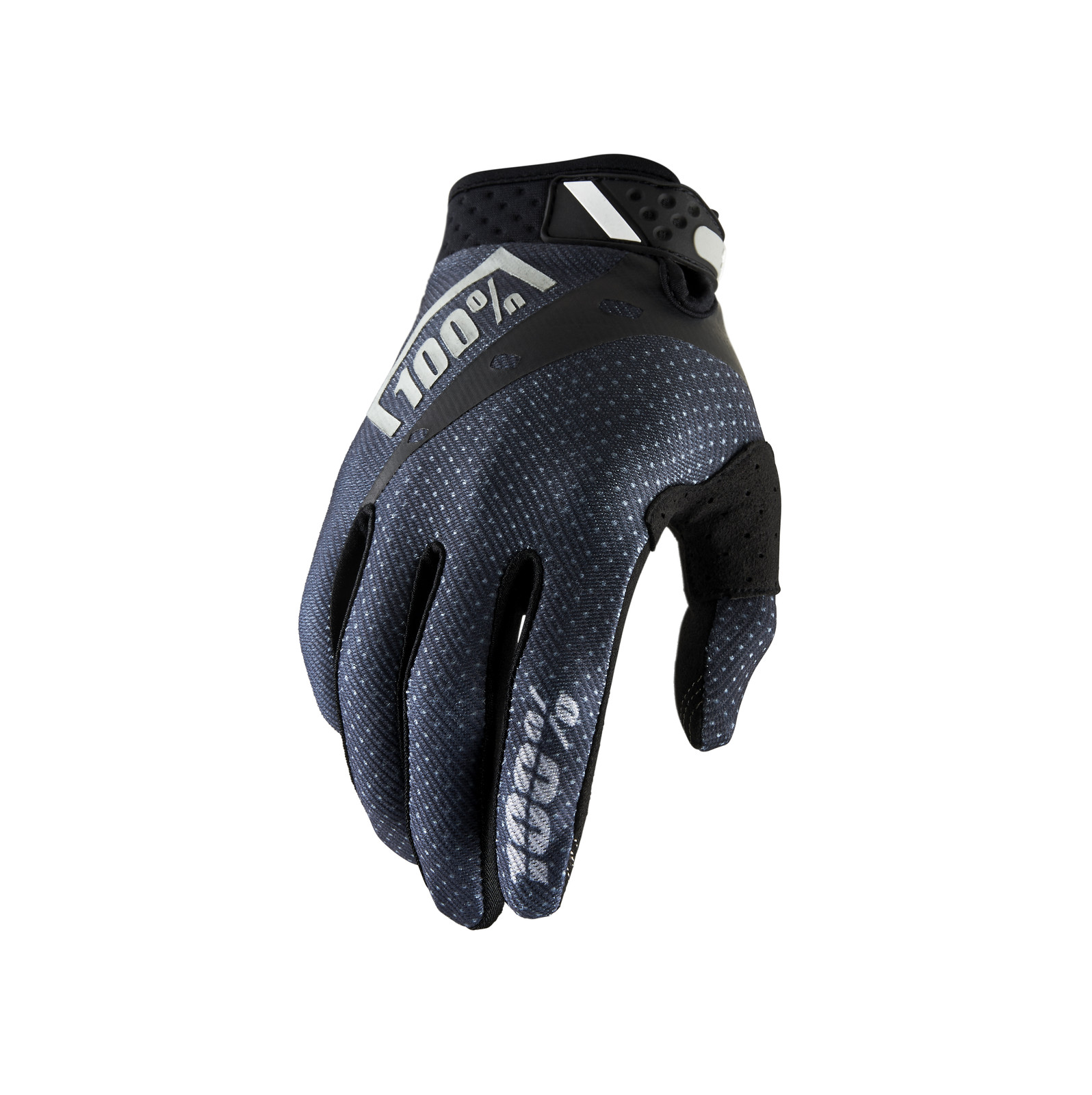 100% Ridefit Glove - Black