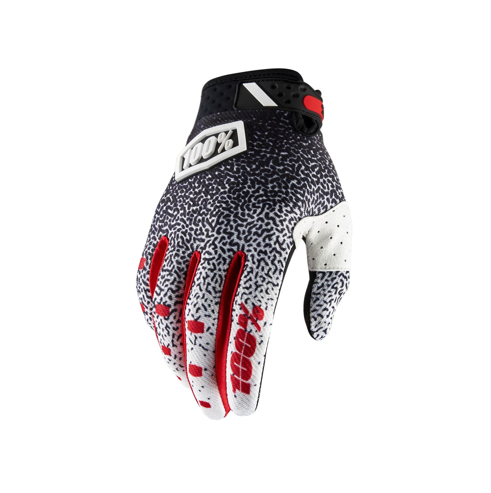 Lightweight Mountain Bike Cycling Gloves Full Finger ION Gat Gloves Black 2016