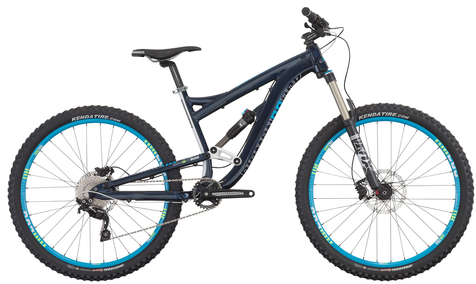 2015 Diamondback Mission One 27.5 Bike - blue