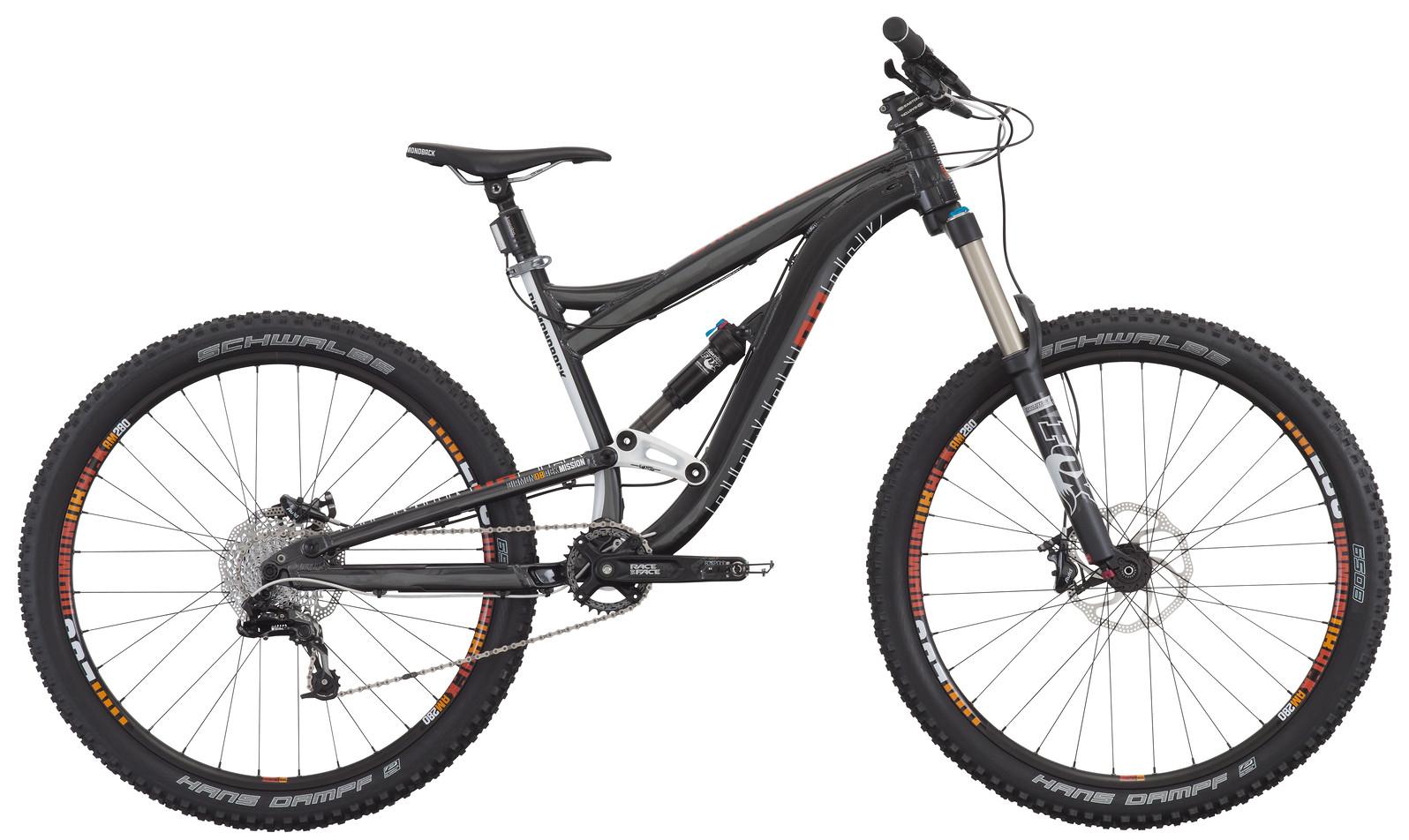 2015 Diamondback Mission Two 27.5 Bike - Grey
