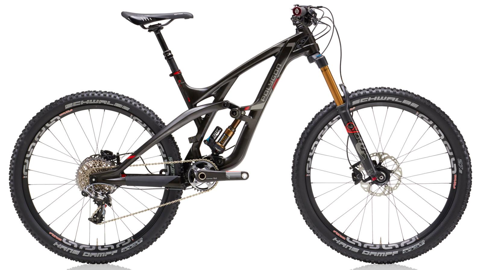 2015 Polygon Collosus N9 Bike