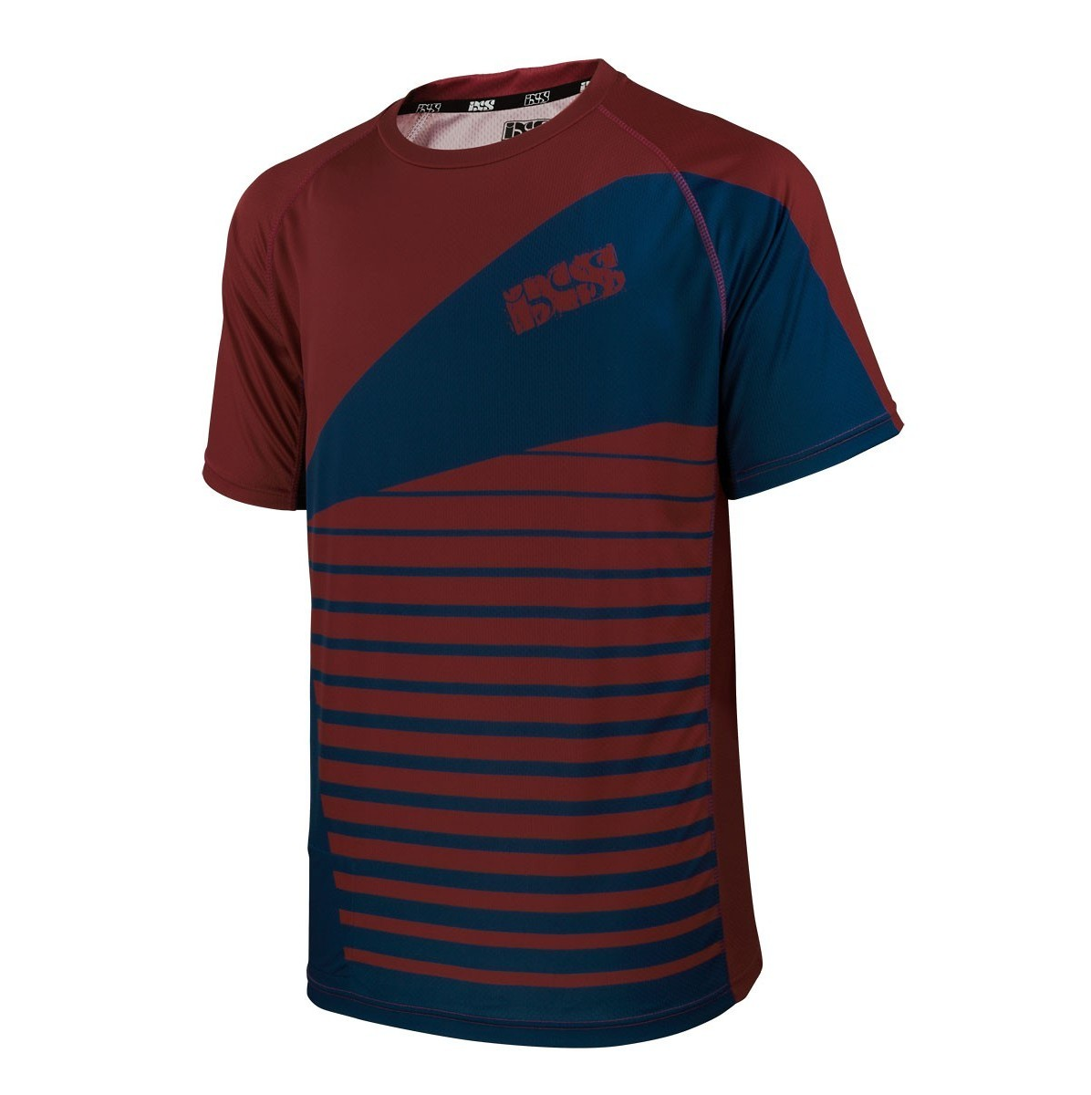 iXS Backcountry Jersey - OSS Red-Blue