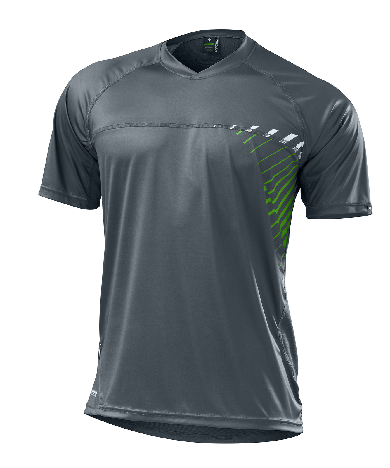 Specialized Enduro Comp Jersey - Carbon:Moto Green