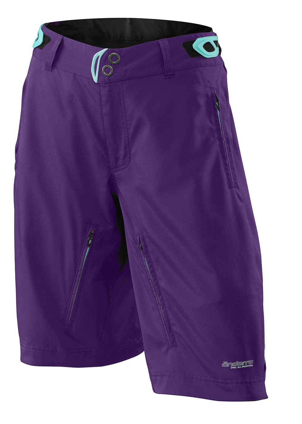 Specialized Women's Andorra Pro Short - purple:light teal