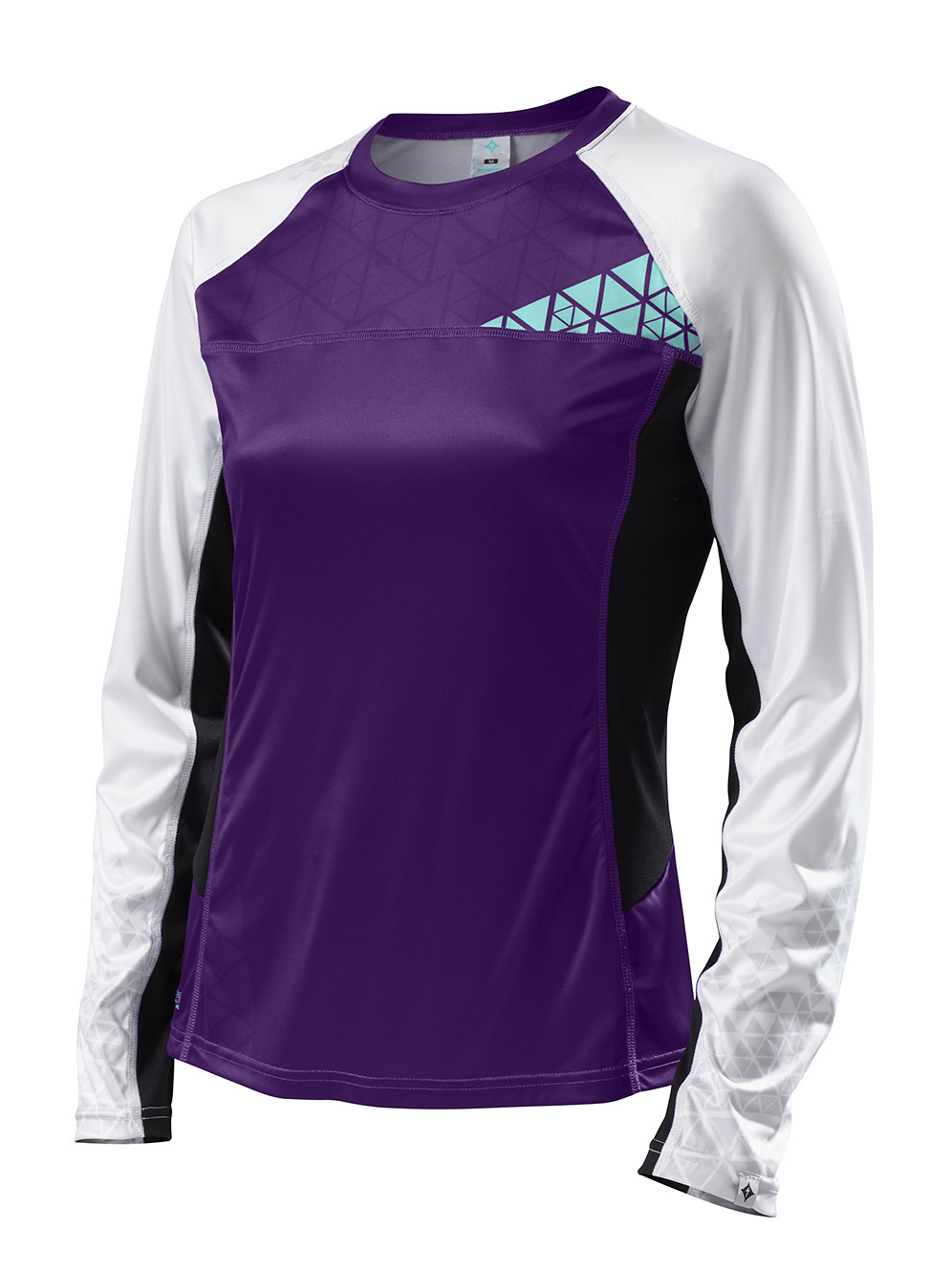 Specialized Women's Andorra Comp Long Sleeve Jersey - purple:light teal