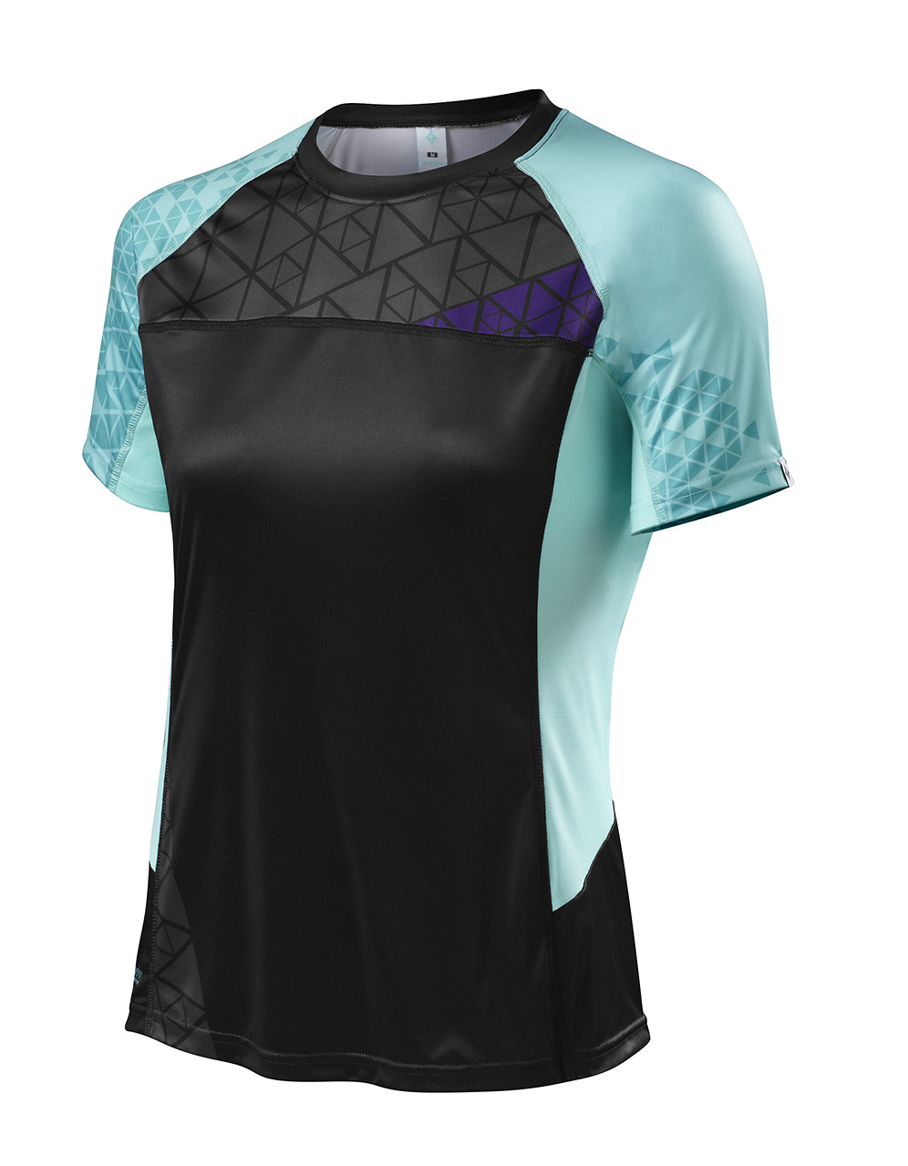 Specialized Women's Andorra Comp Jersey - Black:Light Teal