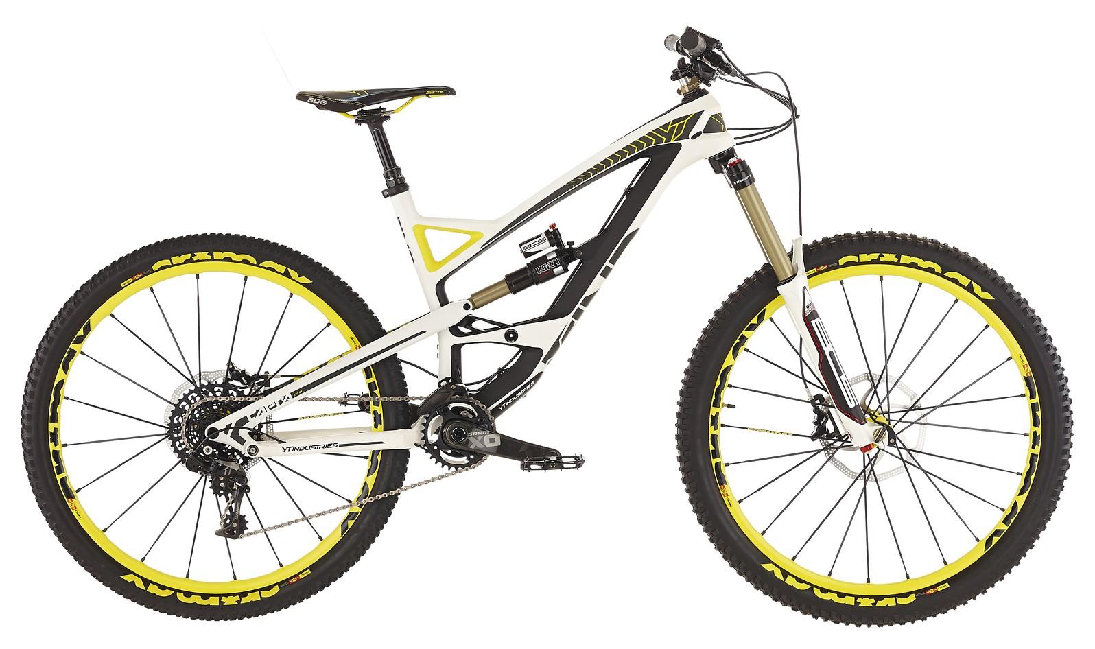 2015 YT Capra Pro Bike