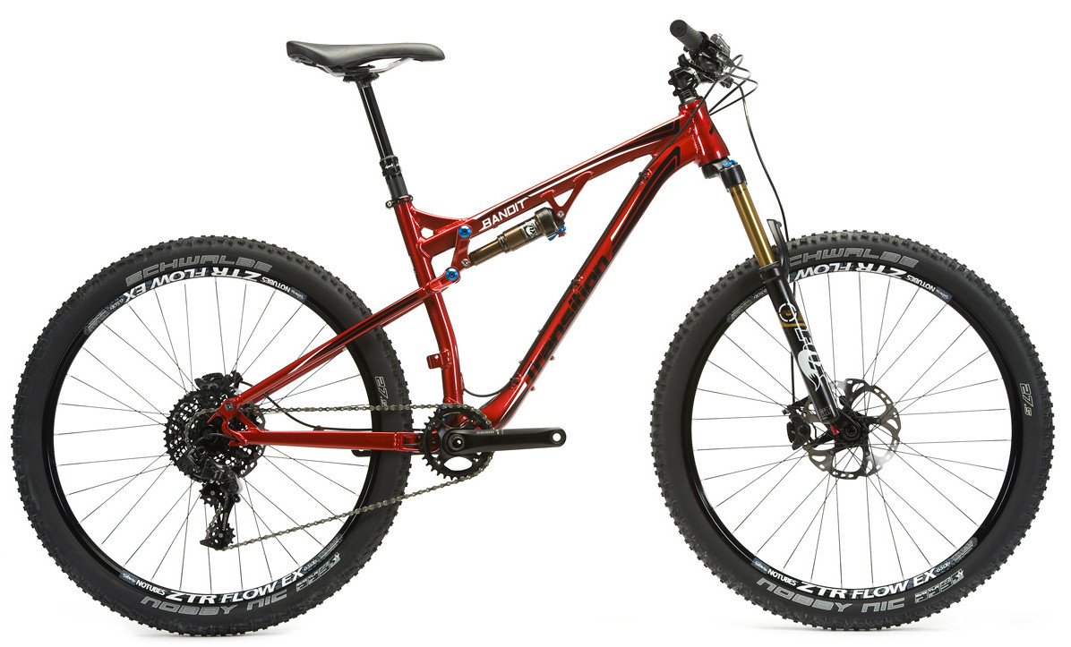 bike - 2014 Transition Bandit 27.5 - red