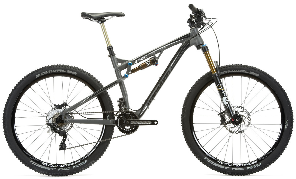 bike - 2014 Transition Bandit 27.5 - grey