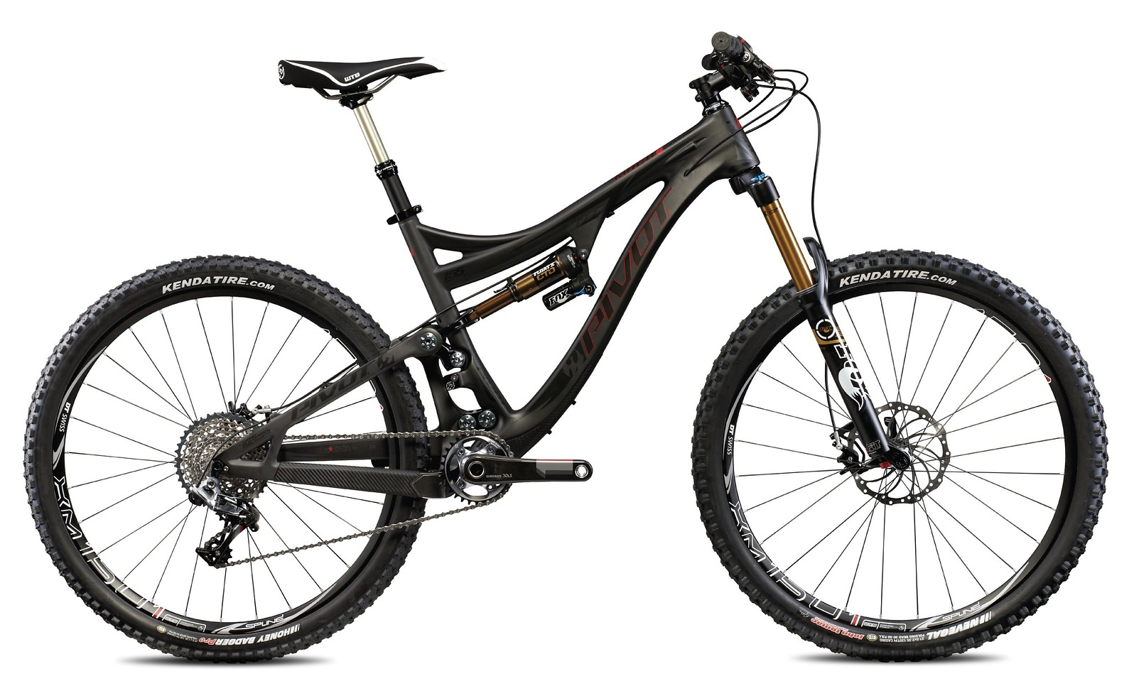 Pivot Mach 6 Carbon Bike - stealth carbon with SRAM XX1 Build