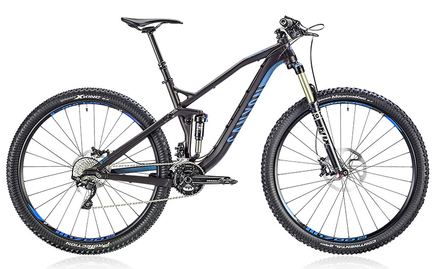 2014 Canyon Spectral AL 7.9 - black sea