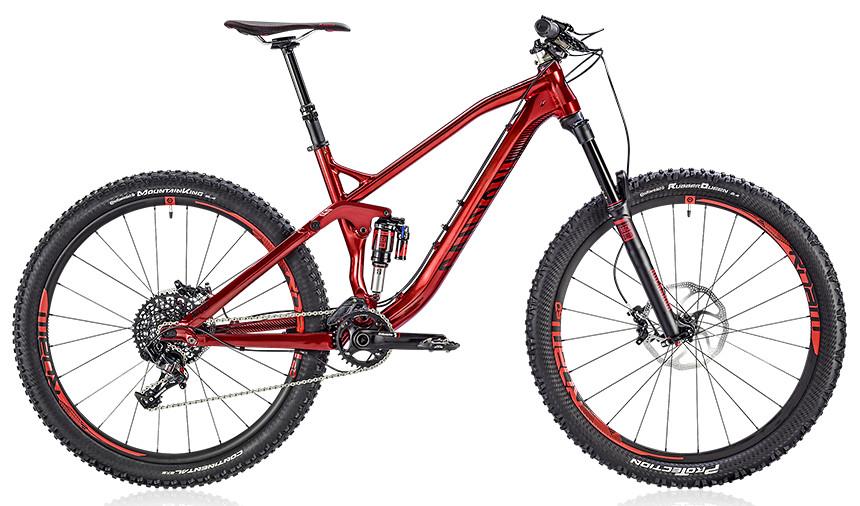 2014 Canyon Spectral AL 9.0 EX Bike