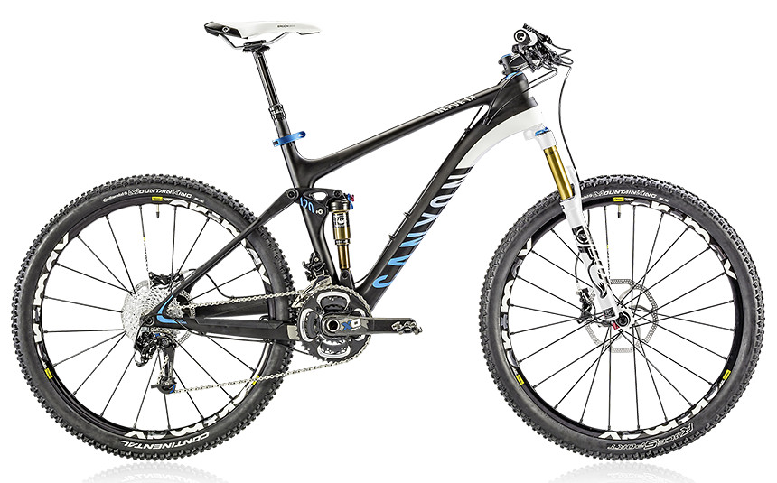2014 Canyon Nerve CF 9.0 - Black Sky