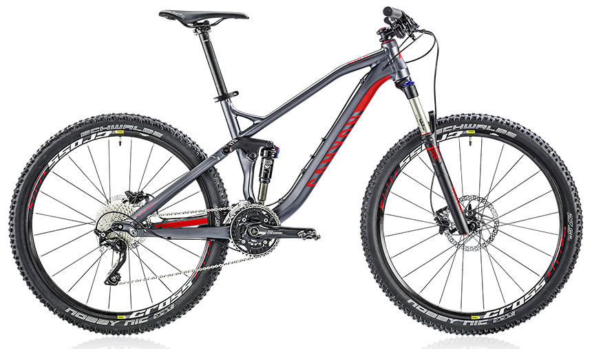 2014 Canyon Nerve AL 6.0 - meteor grey:red