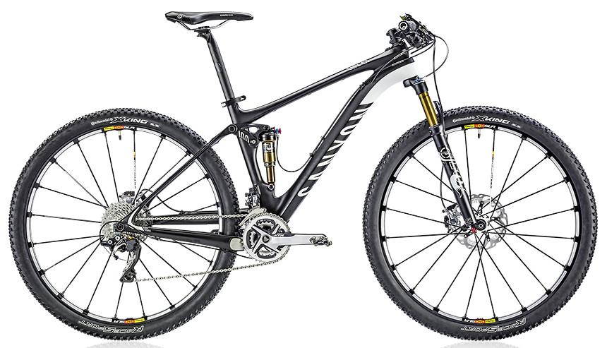 2014 Canyon Lux CF 9.9 SL  Bike 2014 Canyon Lux CF 9.9 SL  - carbon fiber black: white