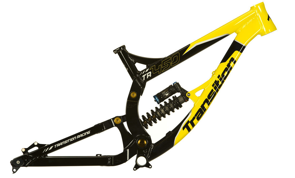 2014 Transition TR450 Frame - yellow