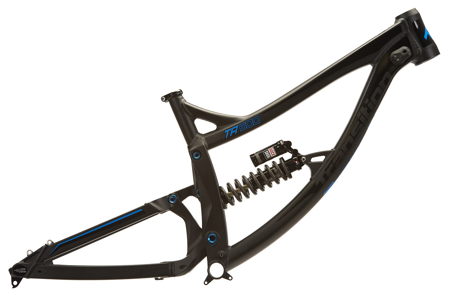 Transition TR500 with RockShox Vivid RC Coil frame - Stealth Black