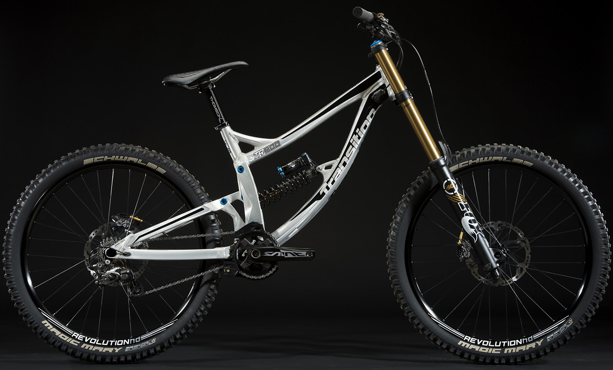 2014 Transition TR500 bike - Dual Crown