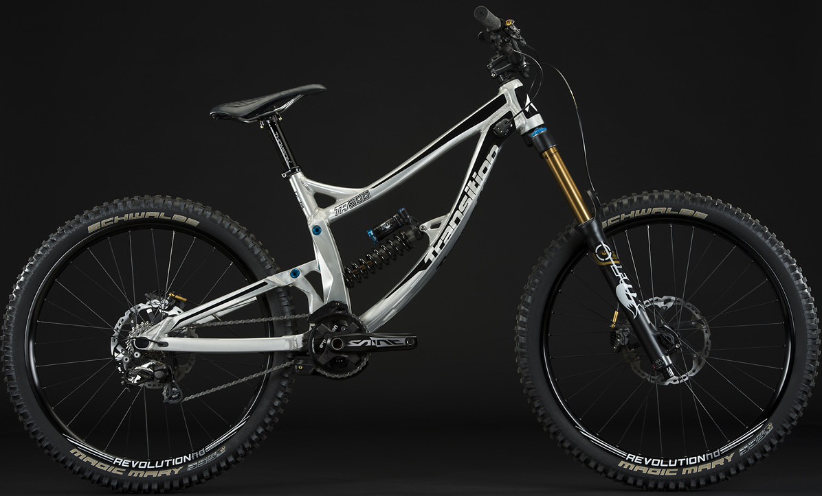 2014 Transition TR500 bike - Single Crown