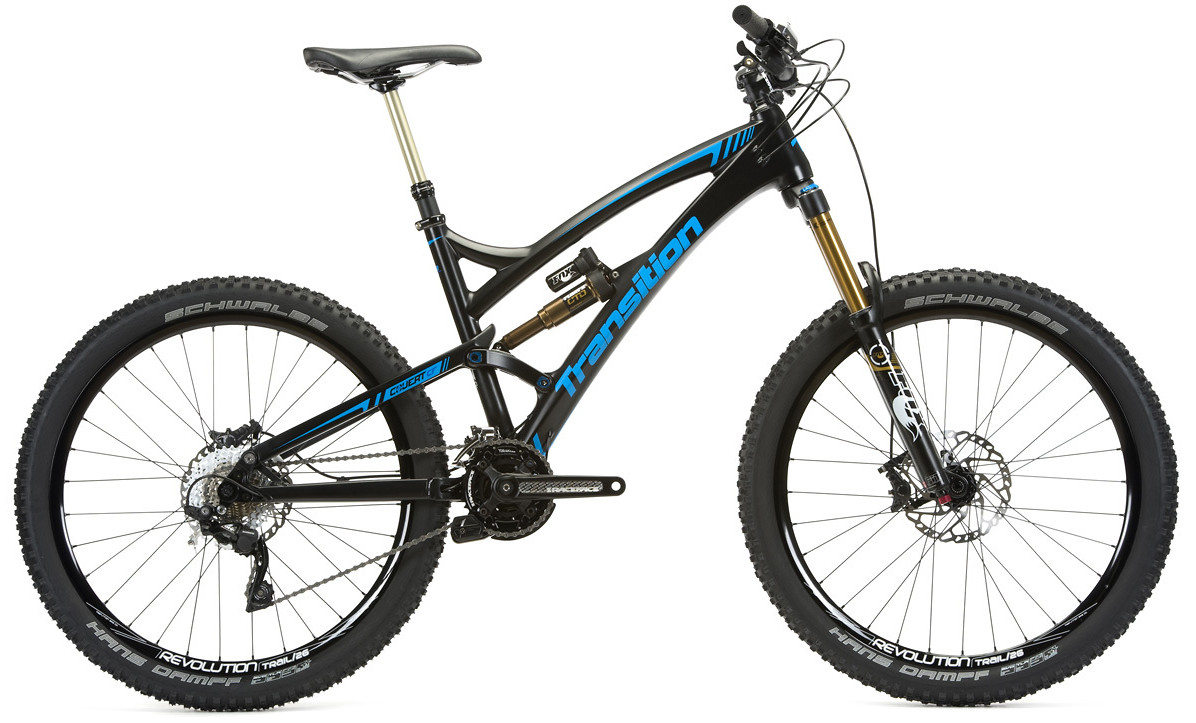 2014 Transition Carbon Covert bike