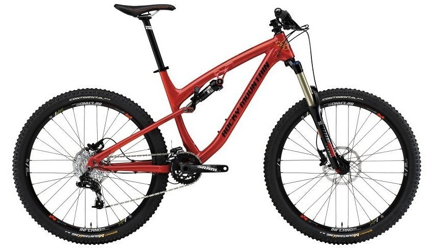 bike - 2014 Rocky Mountain Altitude 730