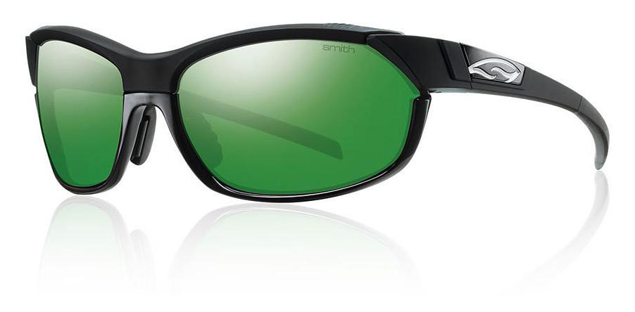 Smith Pivlock Overdrive Glasses - BLACK:GREEN SOL-X MIRROR