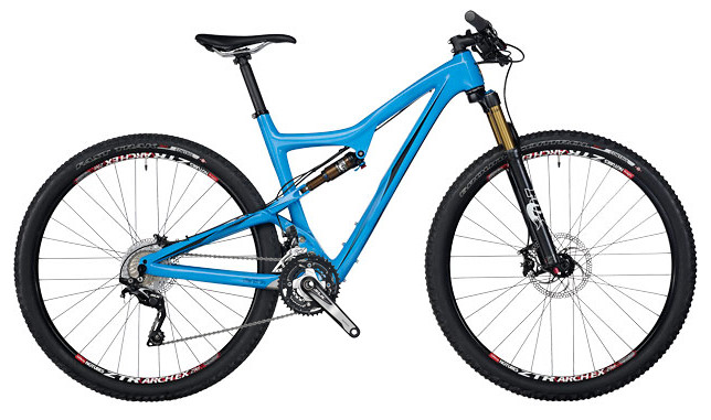 2014 Ibis Ripley 29 Bike - Blue with SLX build (special blend)