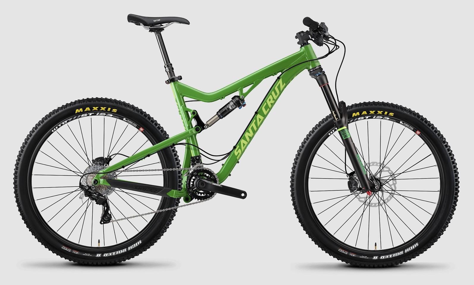 bike - 2015 Santa Cruz Bronson Aluminum S