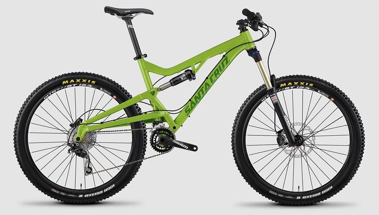 bike - 2015 Santa Cruz Heckler D - lime green