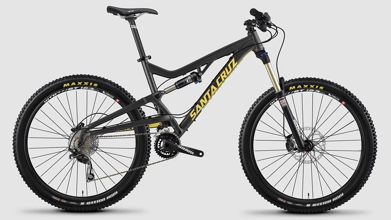 bike - 2015 Santa Cruz Heckler D - Metallic Black