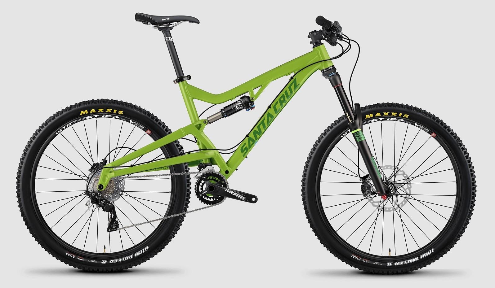 bike - 2015 Santa Cruz Heckler R - lime green