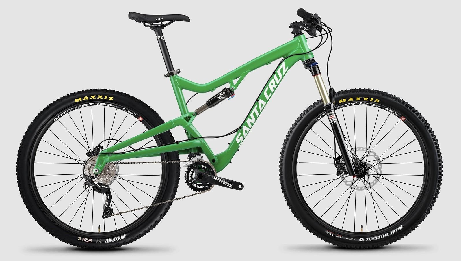 2015 Santa Cruz Bantam D bike - green