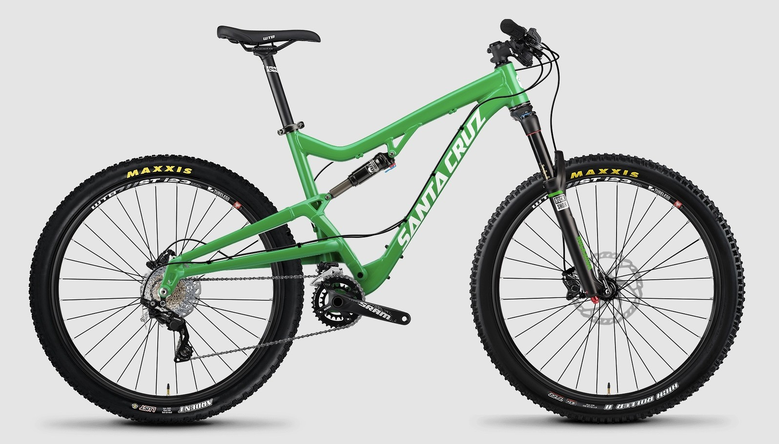 2015 Santa Cruz Bantam R bike - green