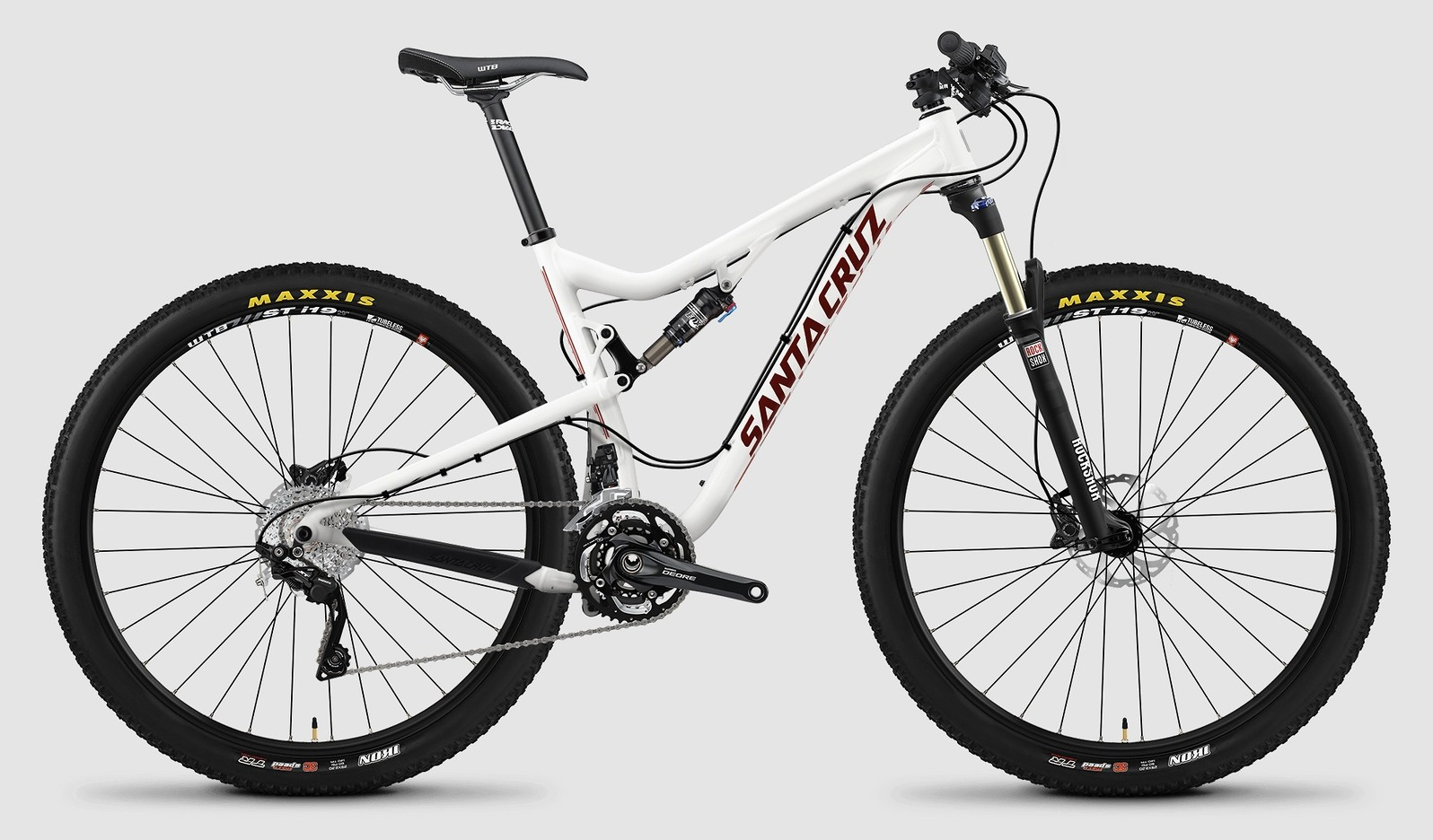 2015 Santa Cruz Tallboy Aluminum R bike - white