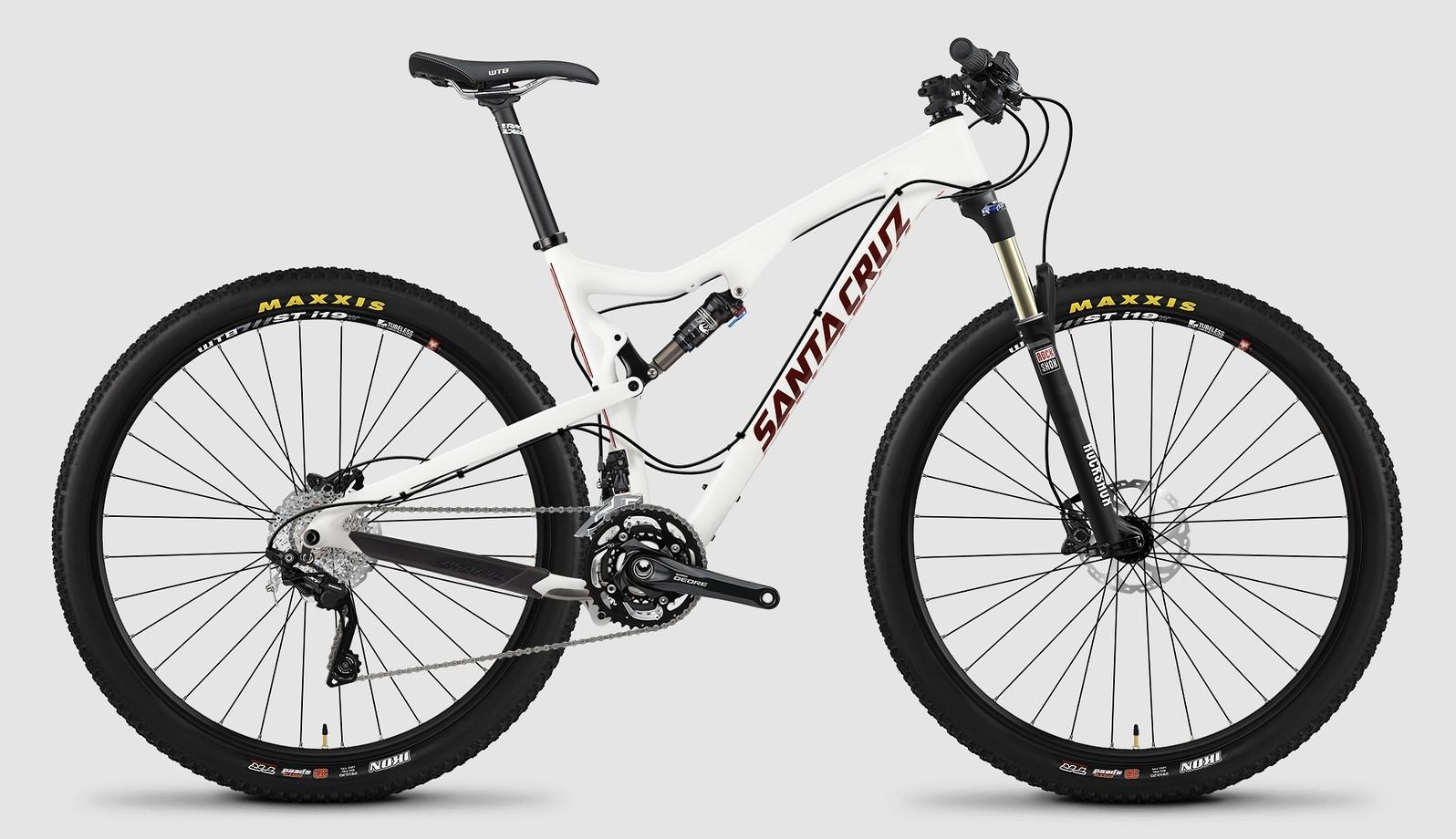 2015 Santa Cruz Tallboy Carbon R bike - white