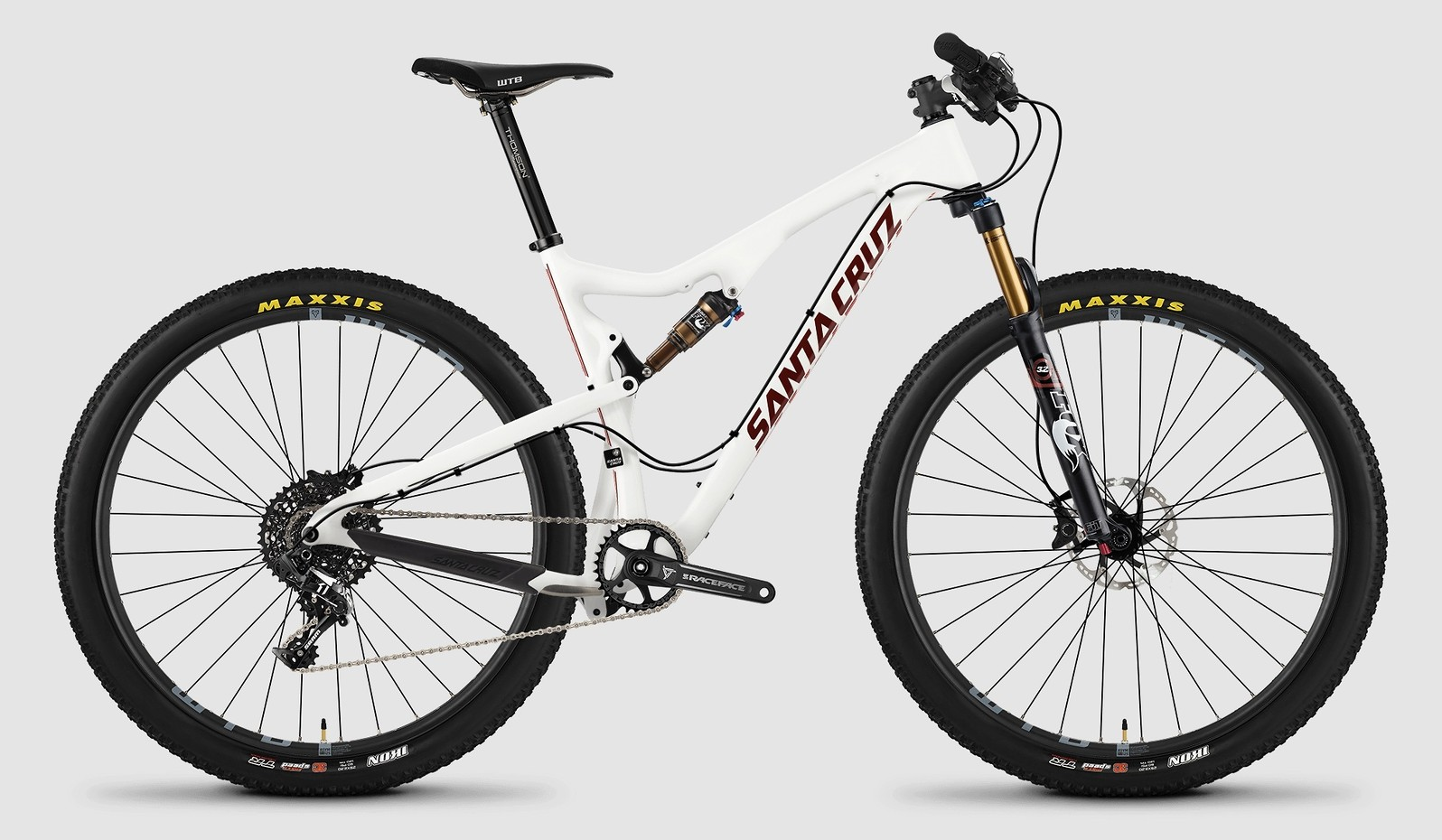2015 Santa Cruz Tallboy Carbon C X01 bike - white