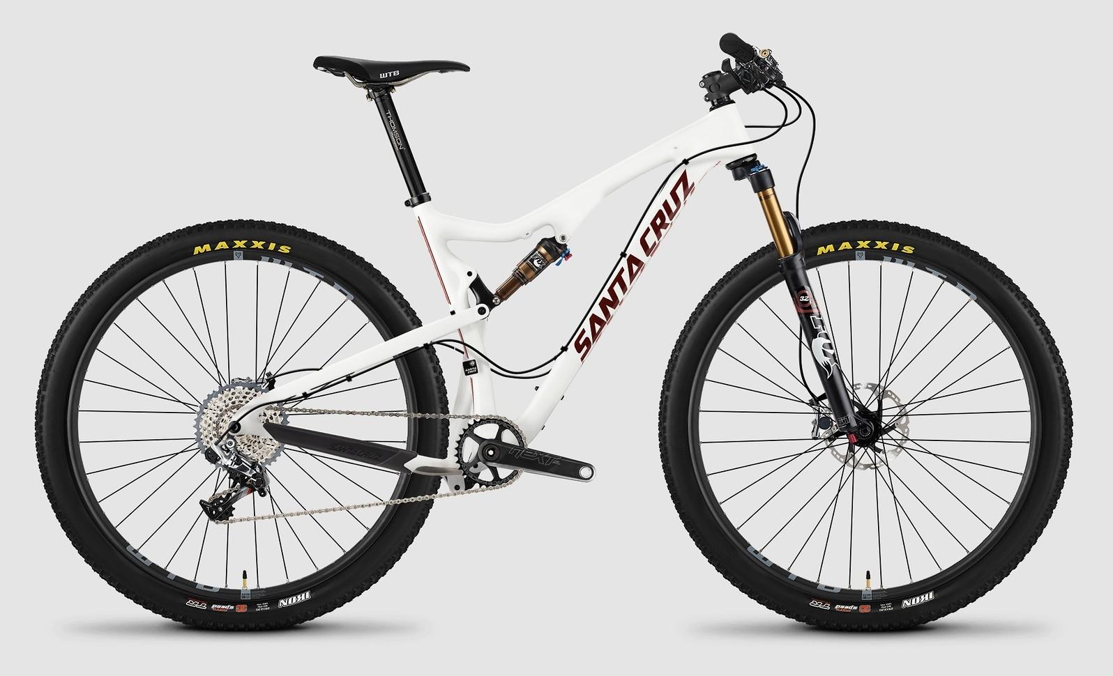 2015 Santa Cruz Tallboy Carbon C XX1 bike - white