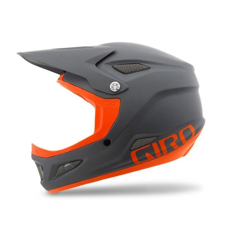 Giro Cipher Helmet - Matte Titanium, Flame