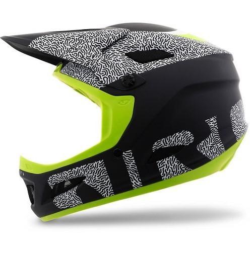 Giro Cipher Helmet - Matte Black, Lime