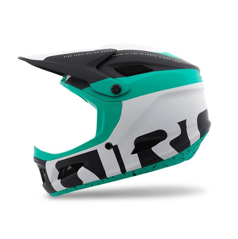 Giro Cipher Helmet - Matte White, Black, Turquoise