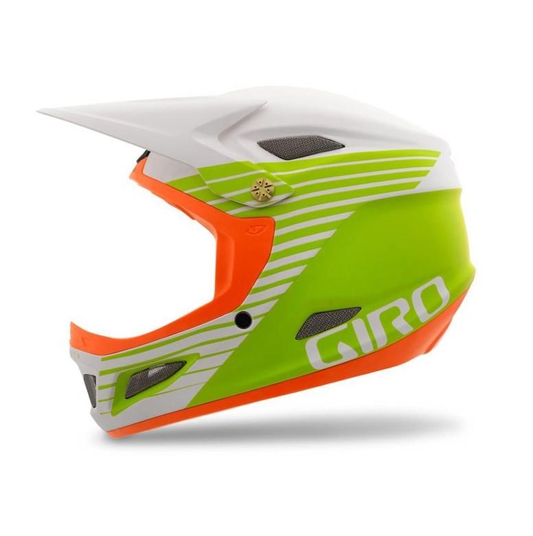 Giro Cipher Helmet - Matte White, Lime, Flame