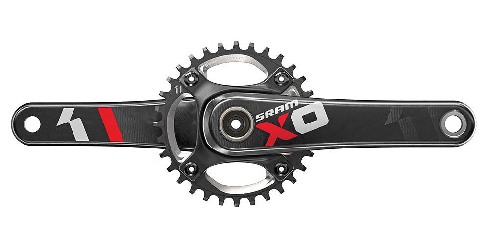 SRAM X01 DH X-SYNC Crankset - Red