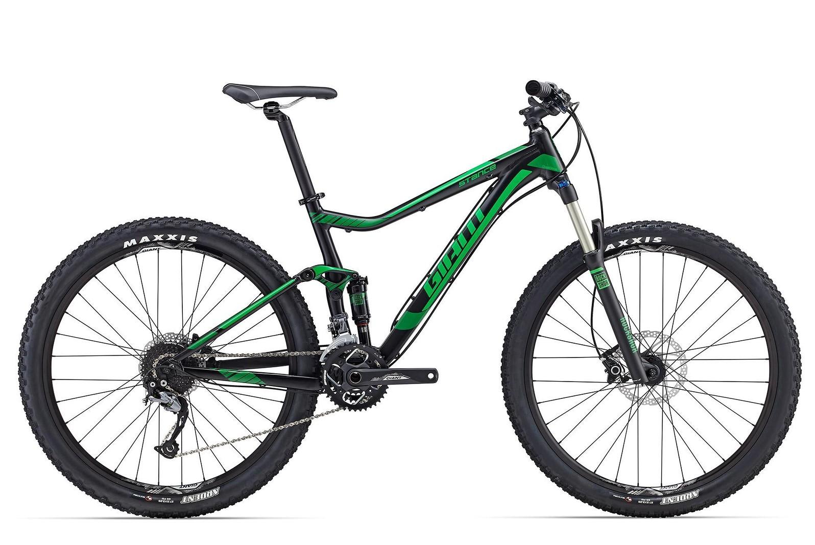 2016 Giant Stance 27.5 2 Bike Stance-275-2-Black